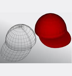 gift cap vector image