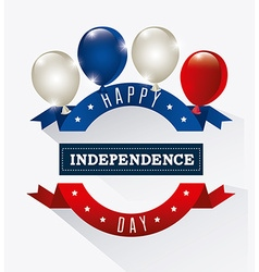 Indepedence day vector image