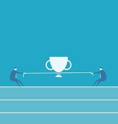 winner podium vector image