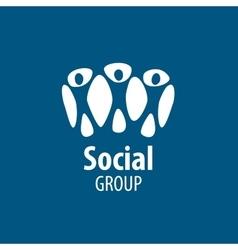 Social group logo vector