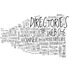 Article directories text background word cloud vector