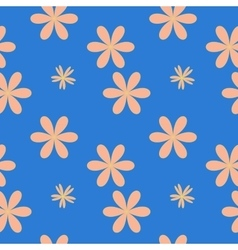Flower pastel seamless pattern vector