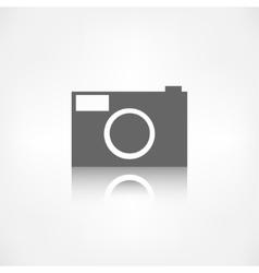 Photo camera icon Photography vector image vector image