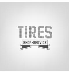 Tires shop logo-04 vector