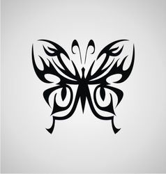 Tribal Butterfly vector image vector image