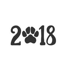 2018 greeting card vector