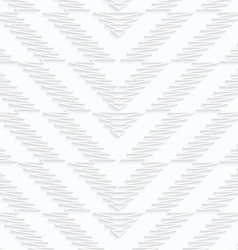 Quilling paper scribbled chevron vector