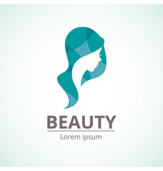 Logo template for the beauty industry vector