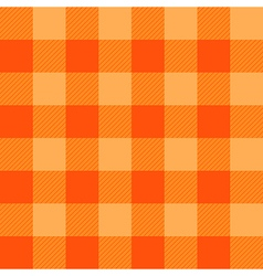 Orange chessboard background vector