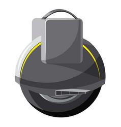 Self balancing wheel icon cartoon style vector