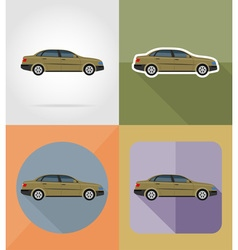 Transport flat icons 04 vector