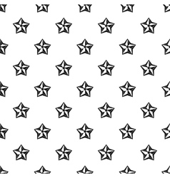 Five pointed celestial star pattern simple style vector