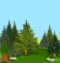 forest 003a vector image