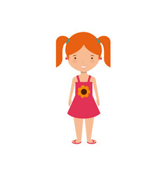 kids on summer vacation design vector image