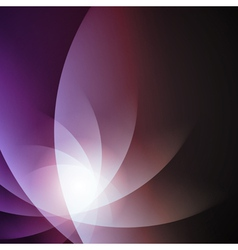Violet smooth lines background vector image