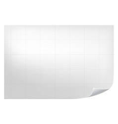 Technical grid background realistic blank paper vector
