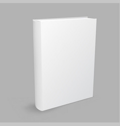 white book gray background vector image