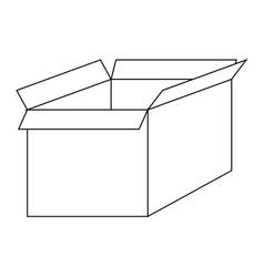 File for delete box the black color icon vector