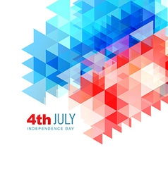 Abstract 4th of july design vector