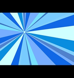 Rays radius background blue vector