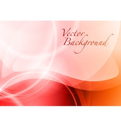 Background abstract red wave vector
