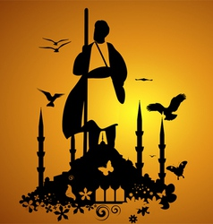 Dervish vector image