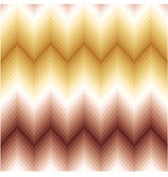 seamless retro zig zag texture background vector image