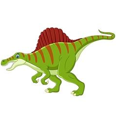 Dinosaur spinosaurus cartoon vector image