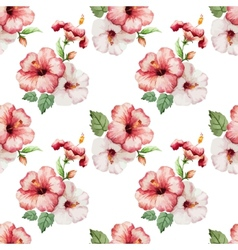 hibiscus4 vector image