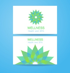 Wellness logo vector