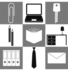 Office symbols vector