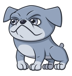 Bulldog puppy 2 vector