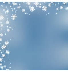 Christmas and New Year blurry background vector image