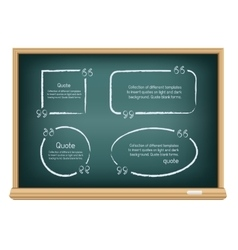 board quote template vector image