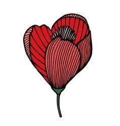 Flower 209 17 vector