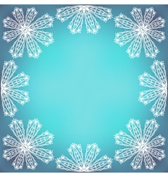 Fragile Lacy Border vector image