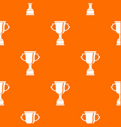 cup for win pattern seamless vector image vector image