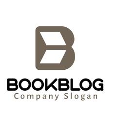 Book blog logo vector