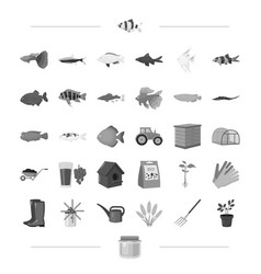 business nature agriculture and other web icon vector image vector image