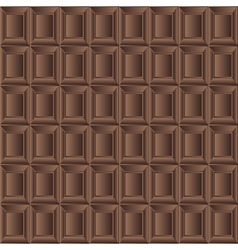 Chocolate milk seamless background texture vector image vector image