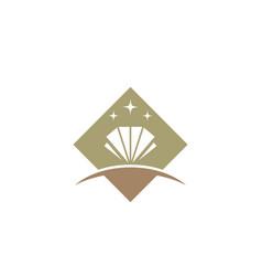 Diamond logo template vector