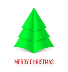 MERRY CHRISTMAS Corner paper 18 vector image vector image