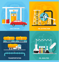 Oil gas industry compositions vector