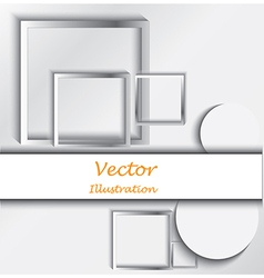 Various frames vector image vector image