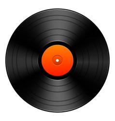 Vintage vinyl vector image