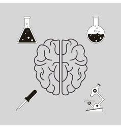 Science related icons image vector