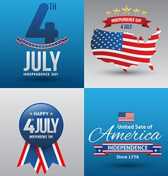 Happy independence day card vector