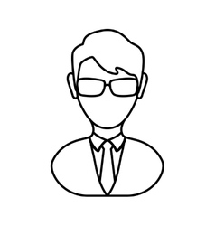 Avatar man icon people design graphic vector