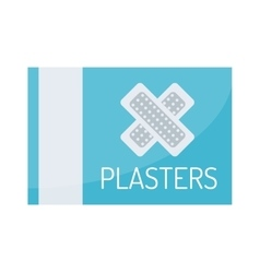 Patch plaster set vector