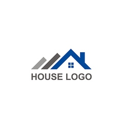 house roof construction abstract logo vector image vector image